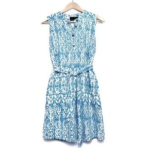 Cynthia Rowley | Ikat print linen dress